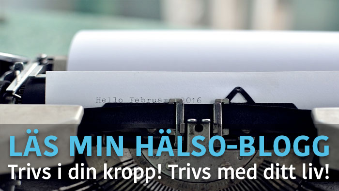 frontpage halso blogg